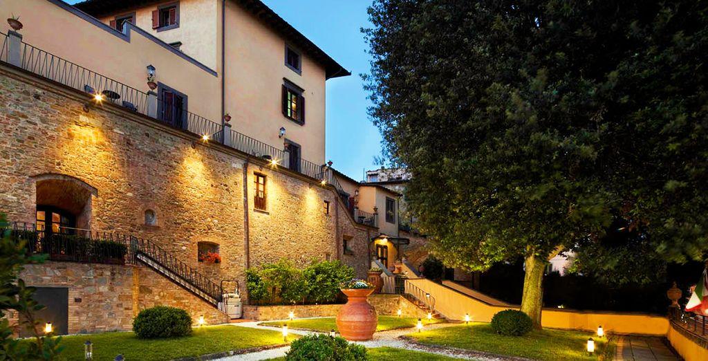 Venez vous ressourcer en Toscane ! - Hôtel Una Palazzo Mannaioni 4* Montaione