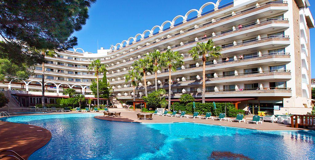 Direction la station balnéaire de Salou, et l'hôtel Golden Port Salou & Spa