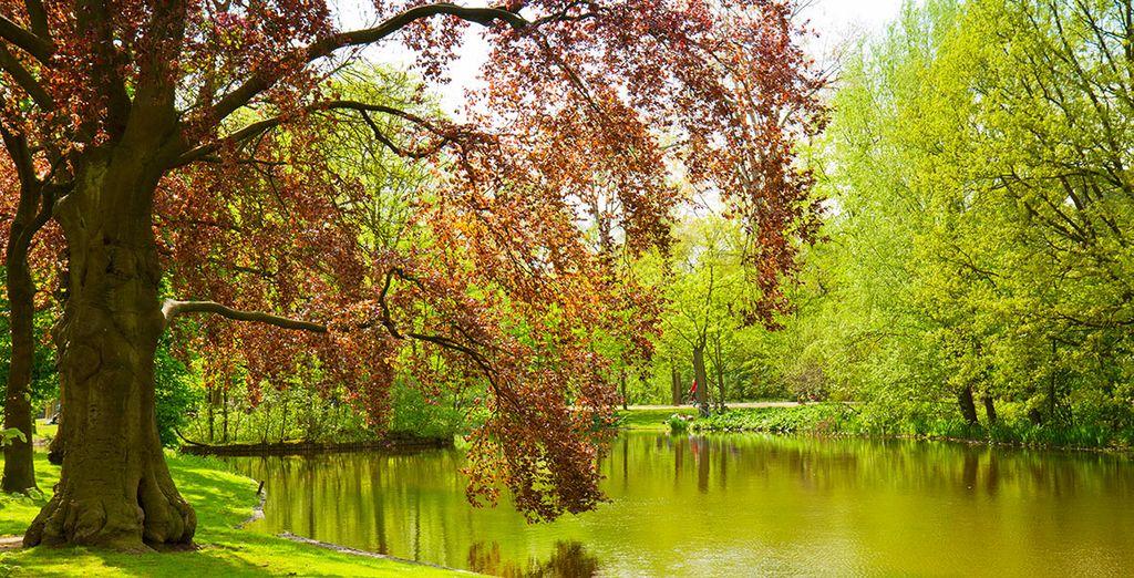 Des parcs verdoyants
