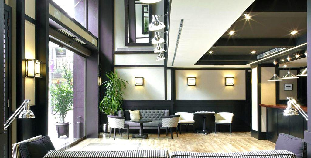 Bienvenue dans l'atmosphère feutrée de votre boutique hôtel - Hôtel Europark Barcelone