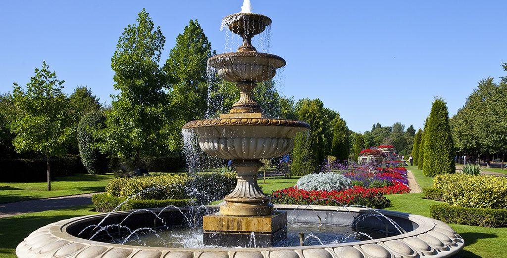 À deux pas d'un des plus beaux parcs royaux de la ville
