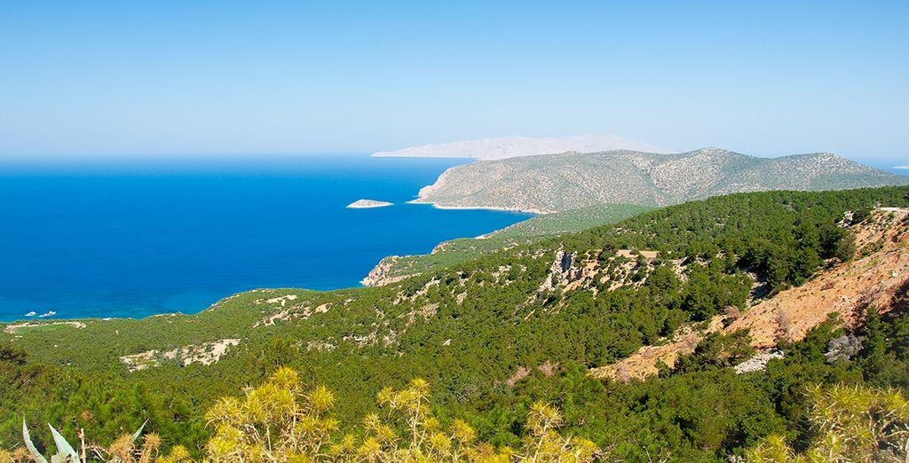 Dépaysement & farniente garantis sur l'île de Rhodes