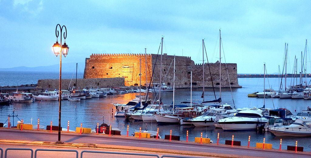 Et bien sûr, le fort d'Héraklion...