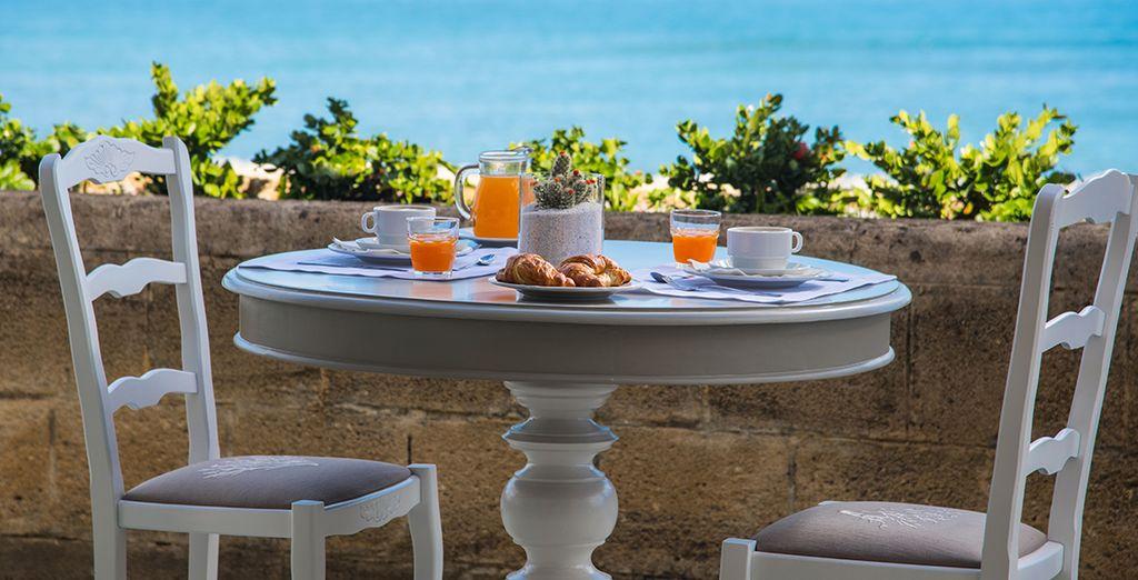 Vous allez adorer prendre votre petit-déjeuner