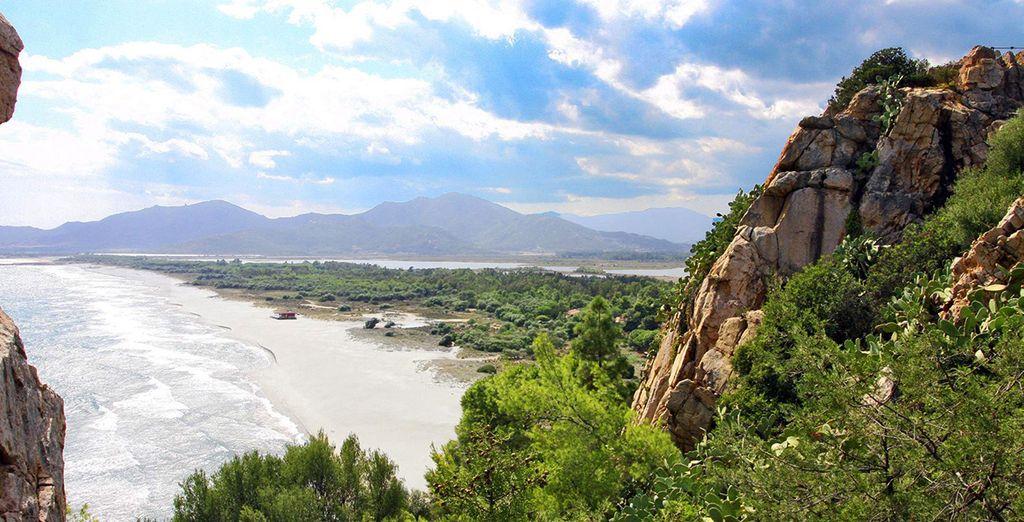 C'est en Sardaigne, au cœur d'une nature sauvage...