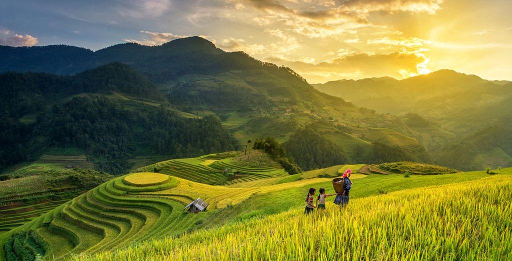 A la découverte des plus beaux paysages du Vietnam version luxe !