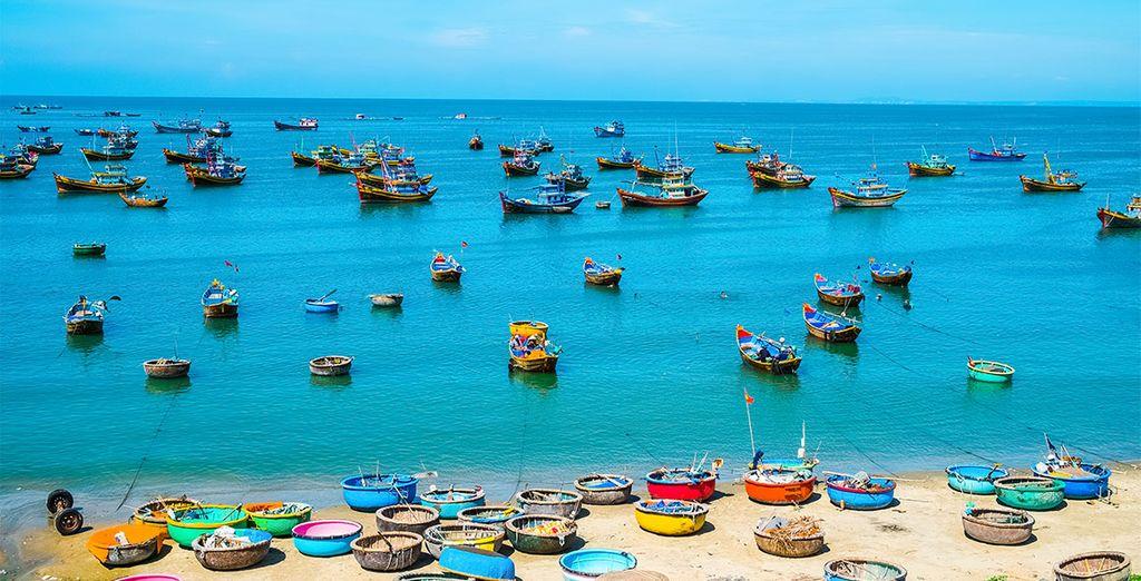 Sur les plages de Mui Ne
