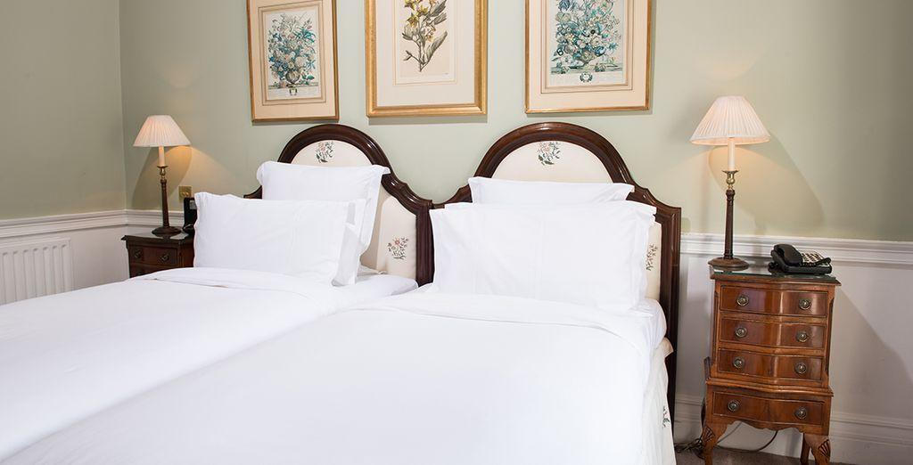 En option et supplément, choisissez le luxe de la chambre Exécutive