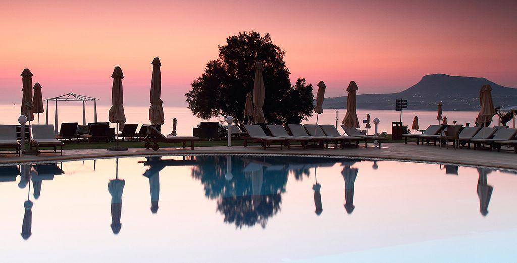 Votre escapade s'annonce grandiose - Hôtel Kiani Beach Resort 5* Kalyves