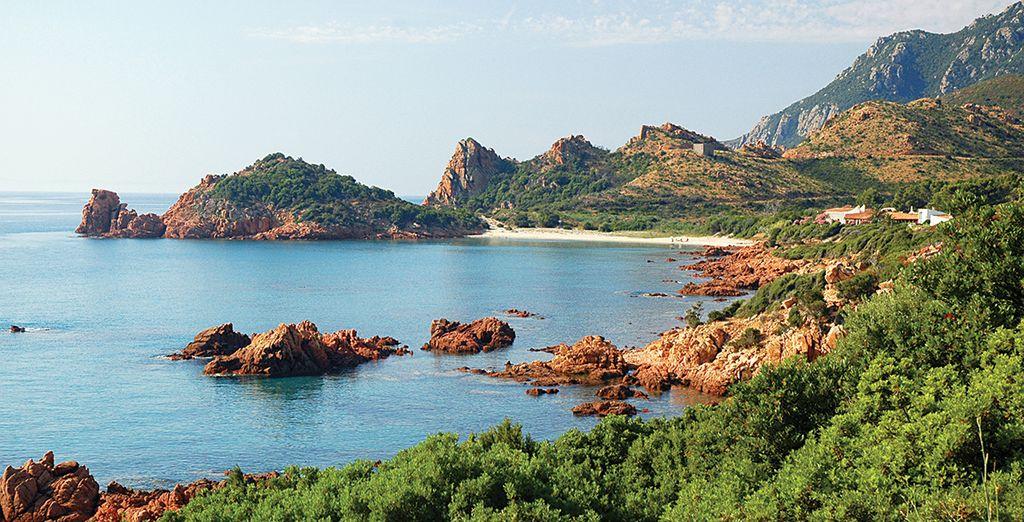 Ou encore découvrez la Spiaggia Su Sirboni