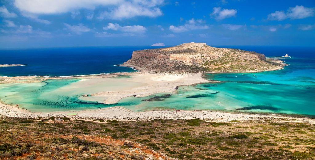 Vous serez inévitablement séduit par la Crète et ses paysages magnifiques