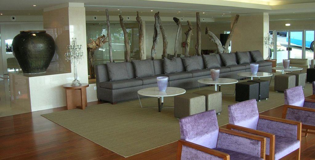 Faites une pause dans le lobby
