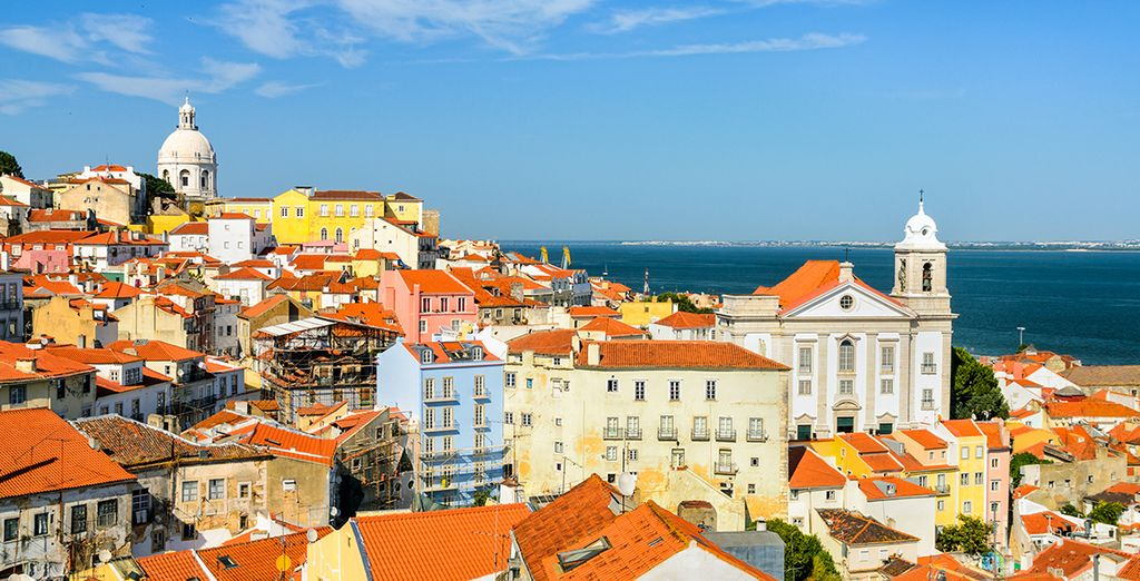 Admirez Lisbonne, belle de jour...