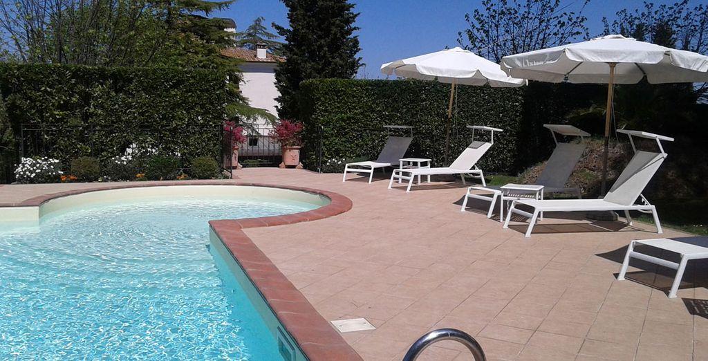 Profitez de la piscine pour vous détendre