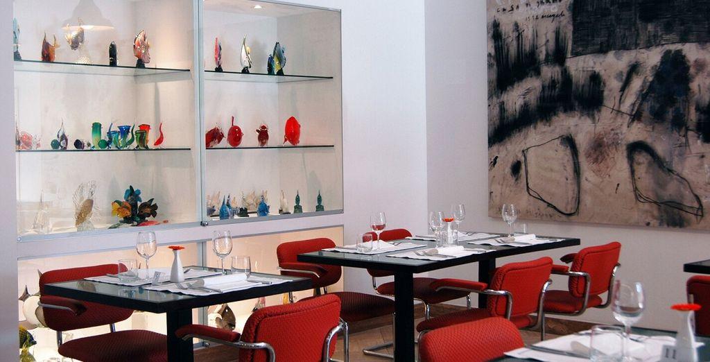 Ne manquez pas de goûter aux plats traditionnels du restaurant