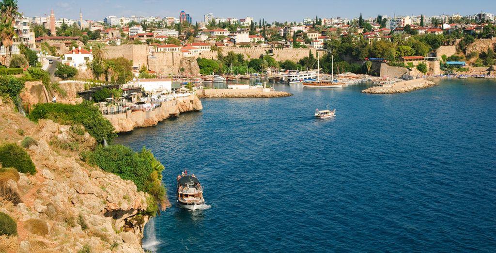 Avant de partir à la rencontre d'Antalya