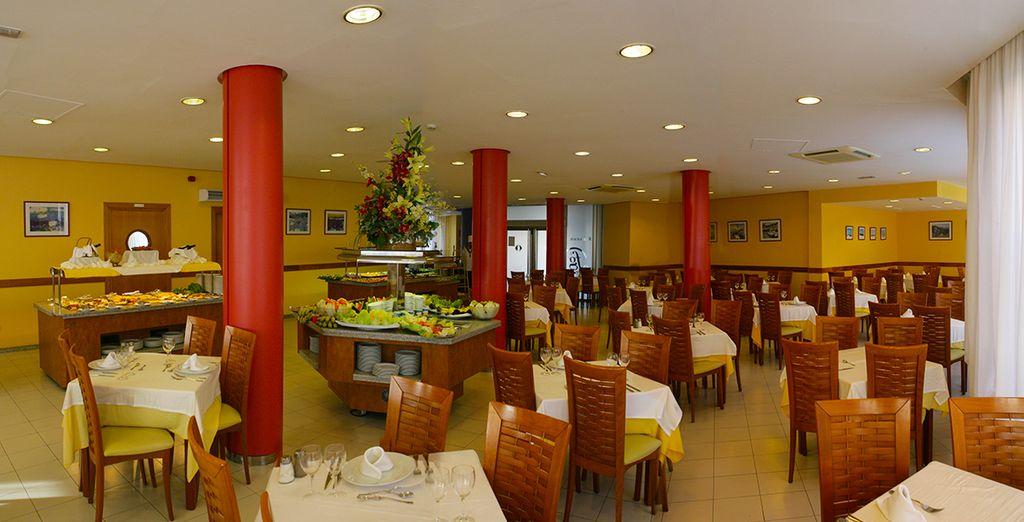 Appréciez une pause déjeuner au restaurant