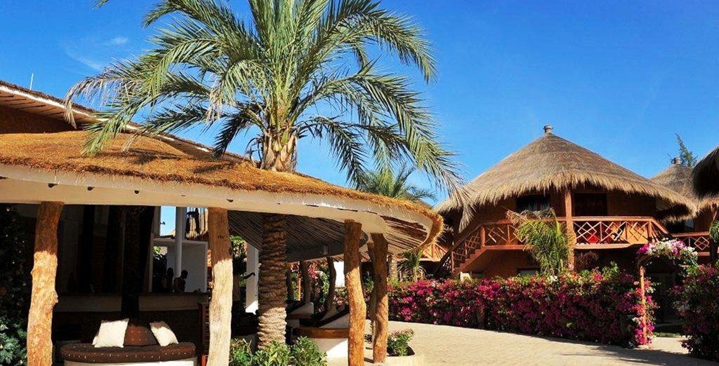 Laissez-vous charmer par son architecture traditionnelle - Le Lamantin Beach Resort & Spa 5* Saly