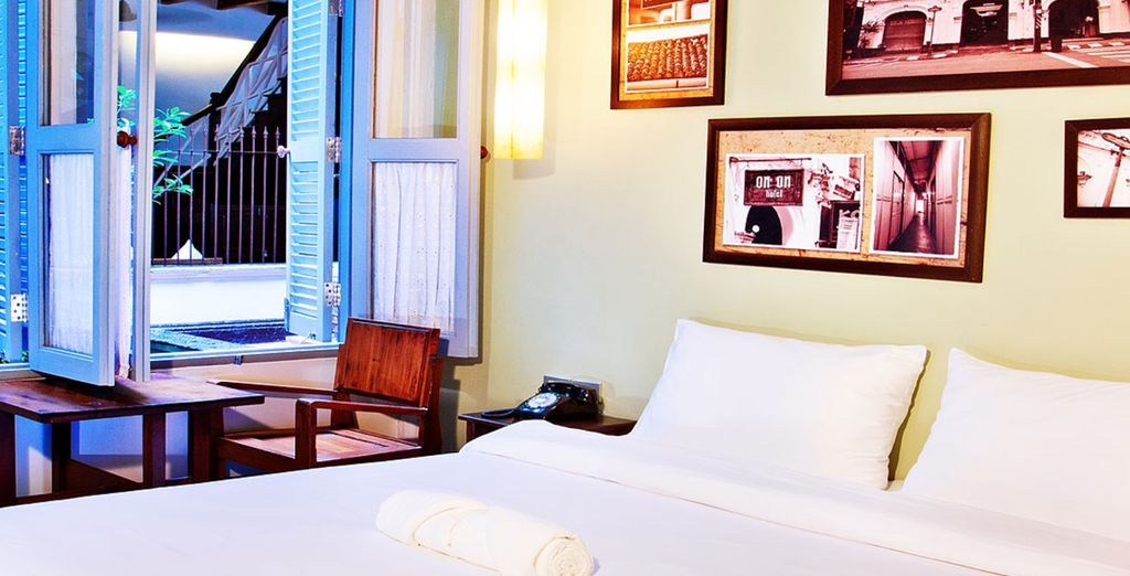 Et sa chambre Superior, cosy et pleine de charme !
