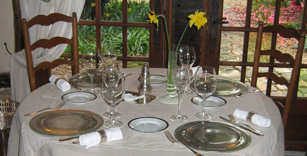 Au restaurant gastronomique l'Andrien