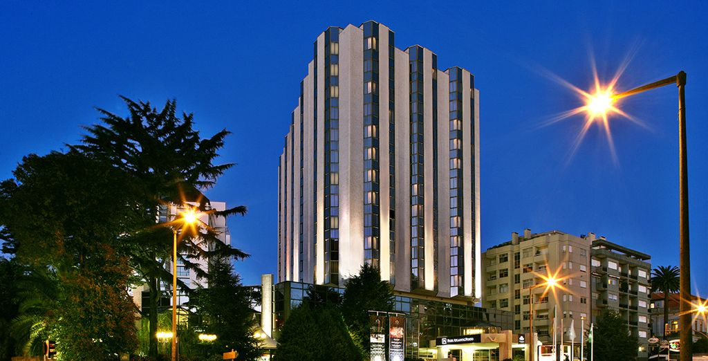 Découvrez l'hôtel Crowne Plaza Porto 5*