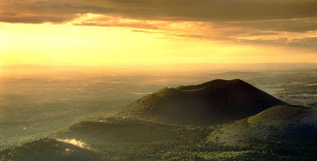 Jusqu'au sommet des volcans d'Auvergne
