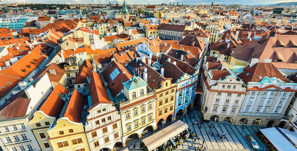 Baladez-vous dans les rues de Prague...