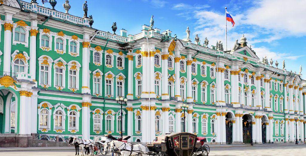 Perdez-vous dans le musée de l'Ermitage, l'un des plus grands du monde...