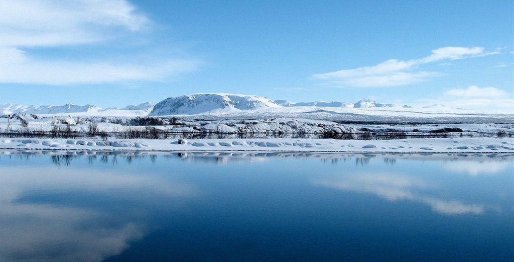 Seul au milieu de l'Islande