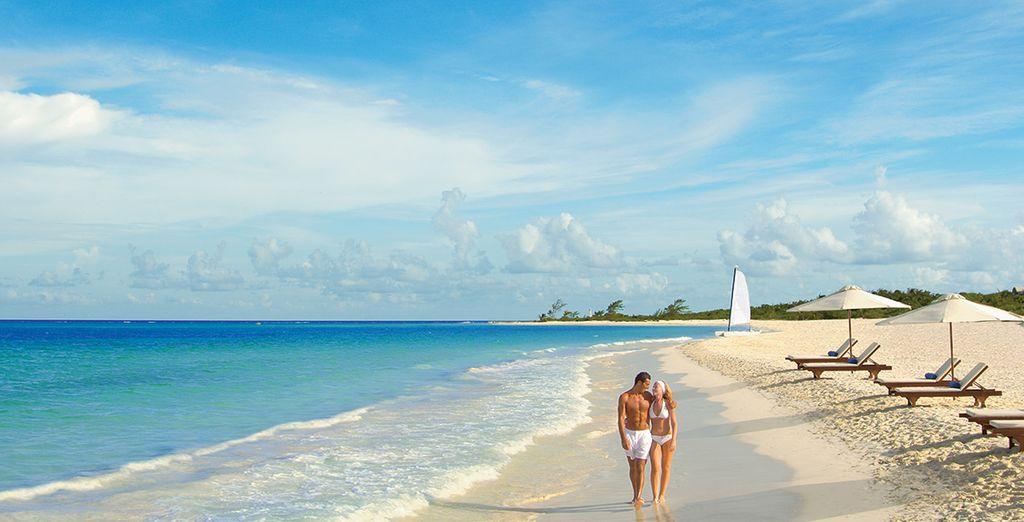 ... Sur l'une des plus belles plages de la région ?
