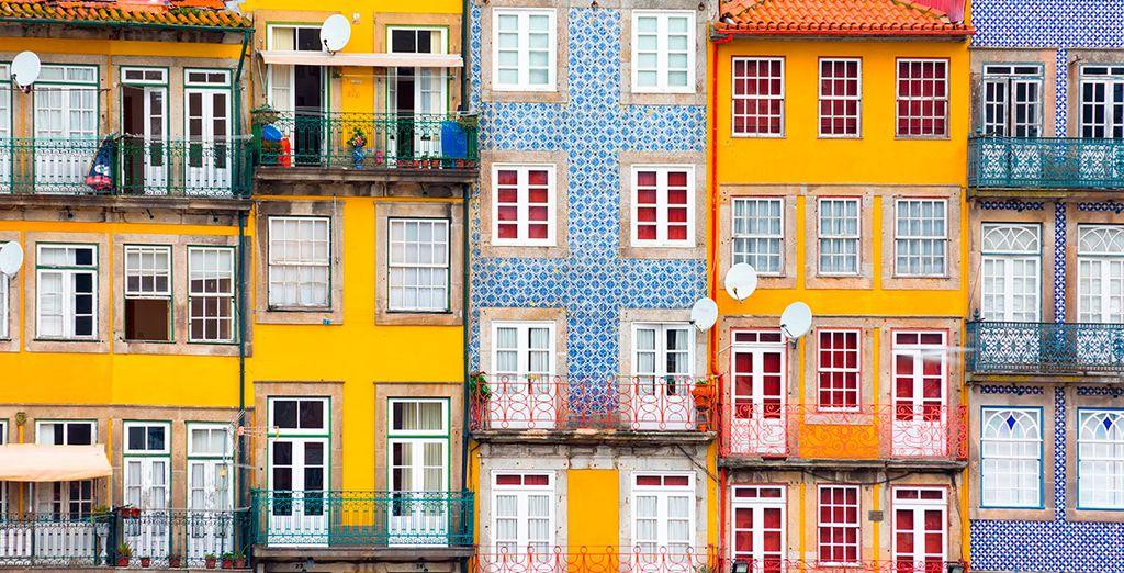Découvrez les maisons colorées de Porto