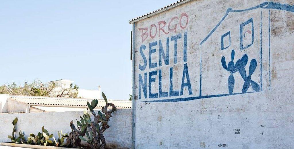 Bienvenue au Borgo Sentinella...