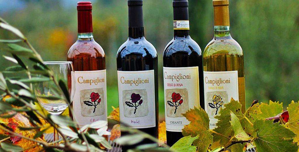 de la production de vin locale