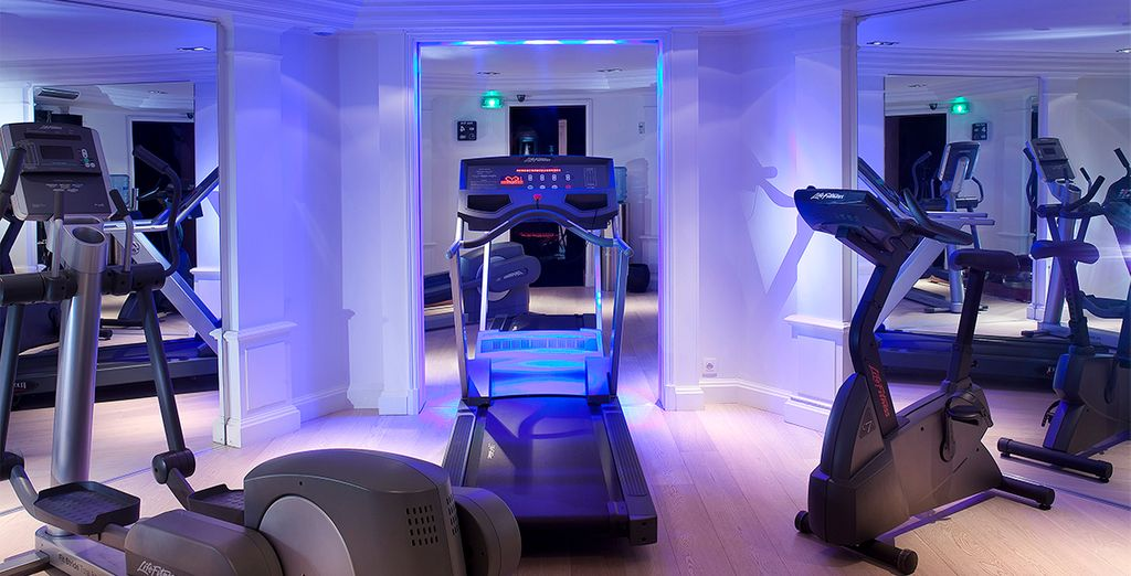Ou de la salle de fitness pour garder la forme
