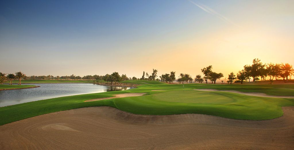 Au coeur du Club de Golf d'Abu Dhabi