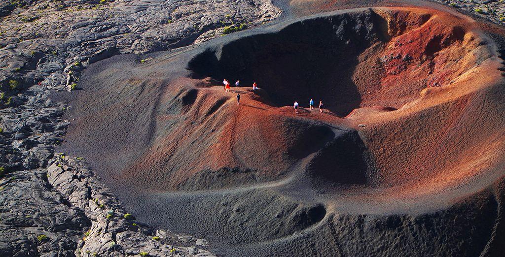 Des volcans...