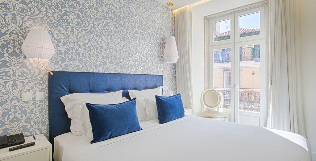 Que diriez-vous de vous installer dans cette chambre ?