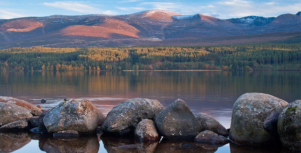 Parc national de Cairngorms en Ecosse