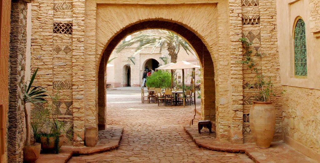 Arrêtez-vous dans la vieille ville d'Agadir pour en découvrir son charme