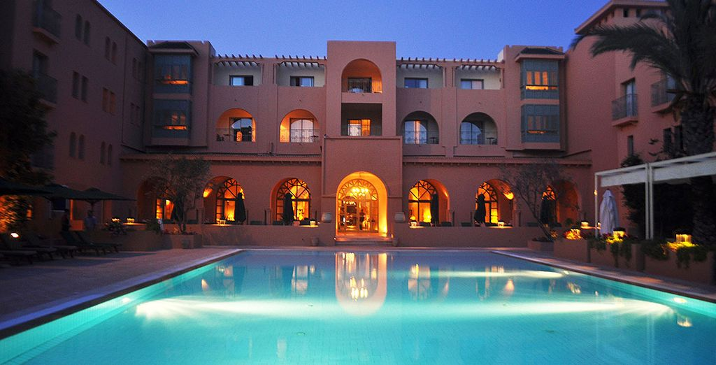 Reposez-vous dans un hôtel de luxe à Yasmine Hammamet
