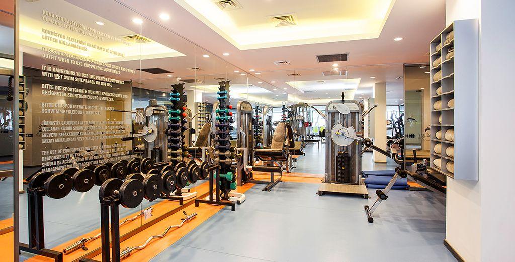 A moins que vous ne préfériez garder la forme à la salle de fitness
