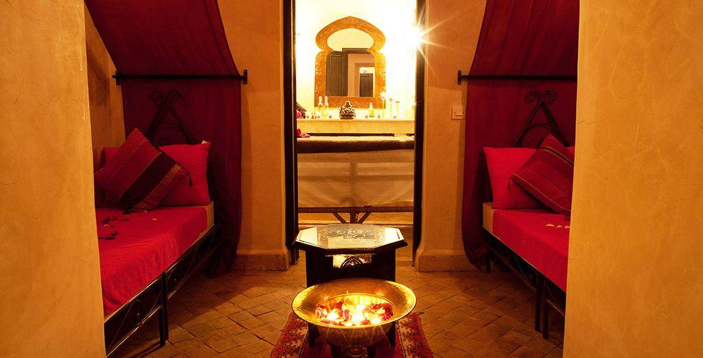 Relaxez-vous à l'espace massage