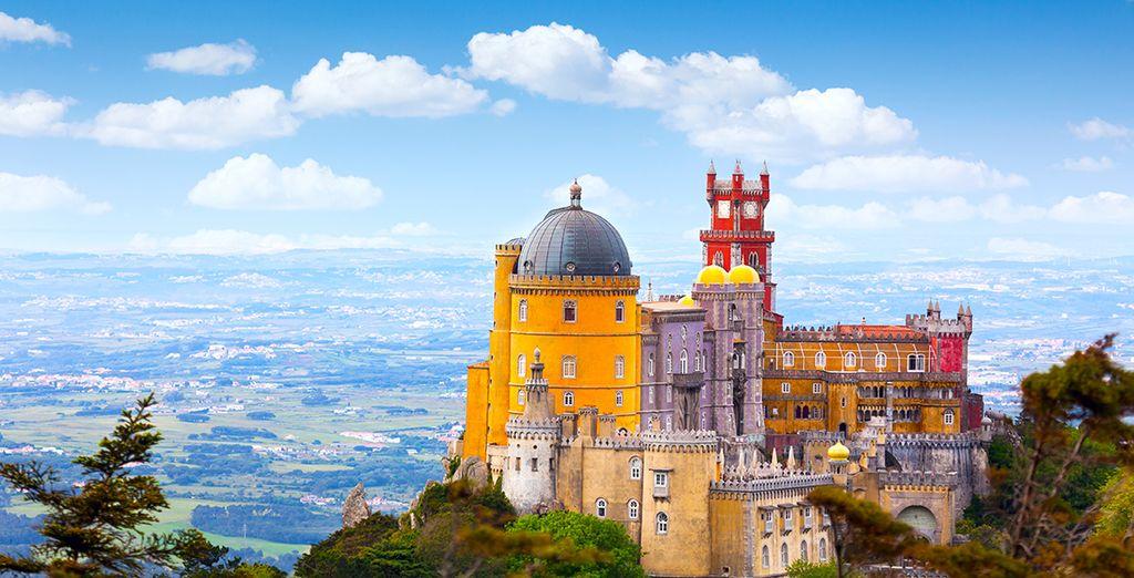 Ou la ville de Sintra, aux châteaux de contes de fée