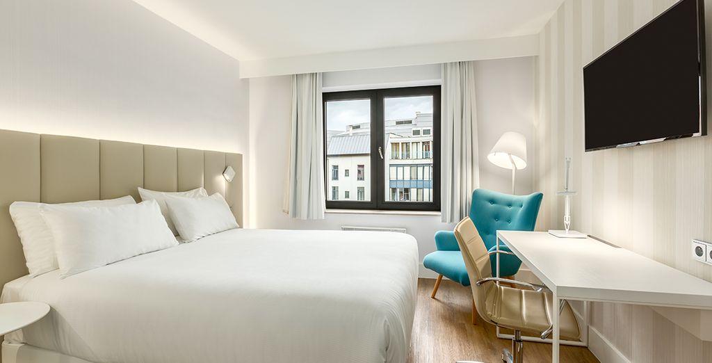 Bienvenue à l'hôtel NH Brussels Grand Place Arenberg