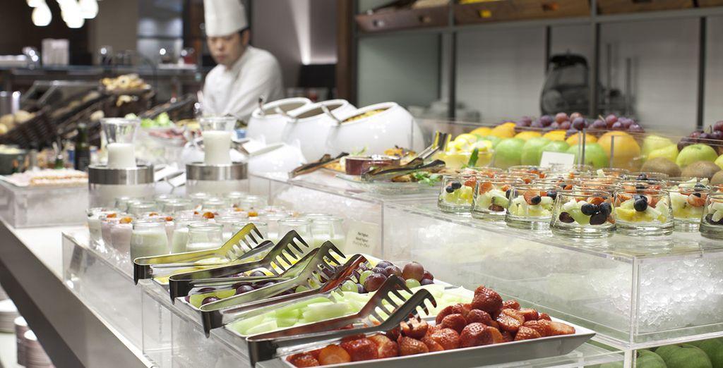 Et laissez-vous tenter par la qualité des saveurs proposées dans les différents restaurants de l'hôtel