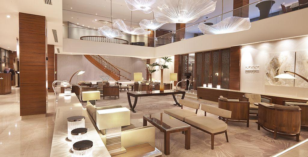 Bienvenue à l'hôtel Okura Amsterdam