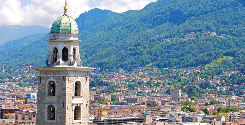 Découvrez la charmante ville de Lugano