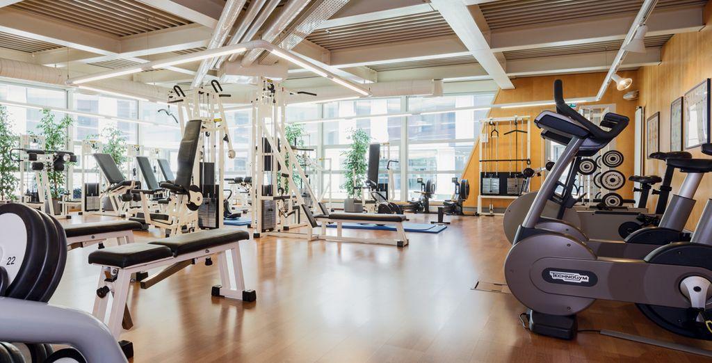 Gardez la forme grâce à la salle de fitness