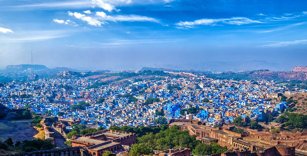 Bleu à Jodhpur...