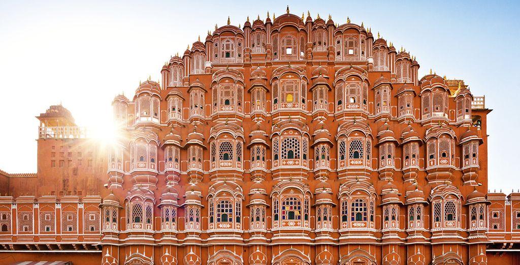 Rose à Jaipur...